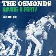 Details The Osmonds - Having A Party