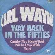 Details Carl Wayne - Way Back In The Fifties
