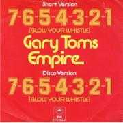 Coverafbeelding Gary Toms Empire - 7-6-5-4-3-2-1 (Blow Your Whistle)