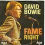Details David Bowie - Fame