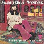 Coverafbeelding Mariska Veres - Tell It Like It Is