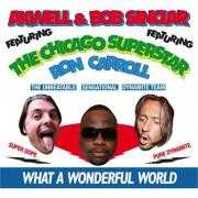 Coverafbeelding Axwell & Bob Sinclar featuring The Chicago Superstar Ron Carroll - What a wonderful world