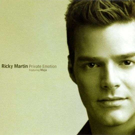 Coverafbeelding Ricky Martin featuring Meja - Private Emotion