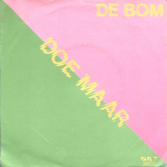 Coverafbeelding De Bom - Doe Maar