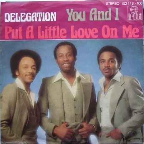 Coverafbeelding Delegation - Put A Little Love On Me