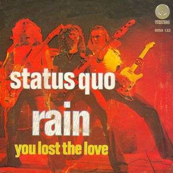 Coverafbeelding Rain - Status Quo