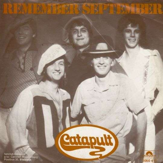 Coverafbeelding Remember September - Catapult