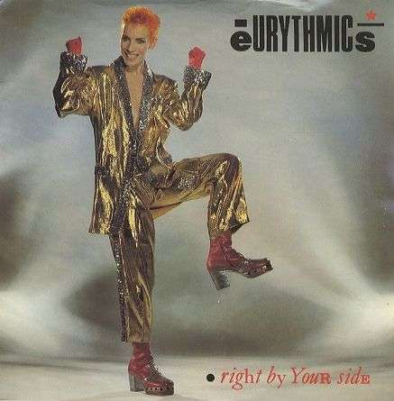 Coverafbeelding Eurythmics - Right By Your Side