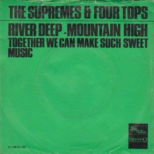 Coverafbeelding River Deep - Mountain High - The Supremes & Four Tops