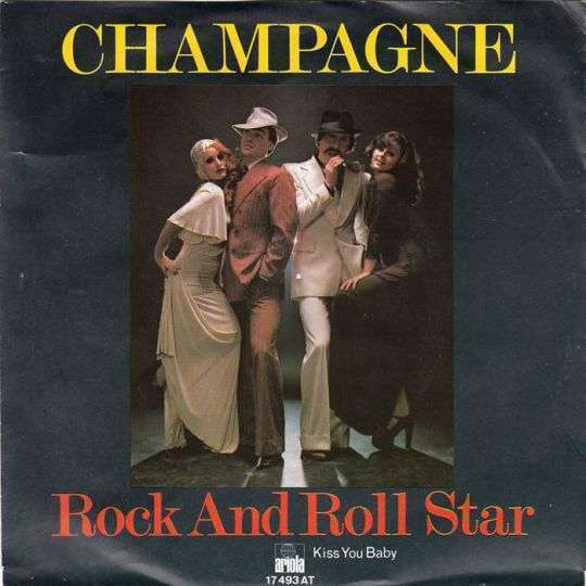 Coverafbeelding Rock And Roll Star - Champagne