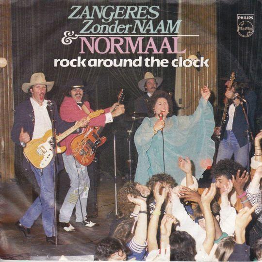 Coverafbeelding Rock Around The Clock - Zangeres Zonder Naam & Normaal