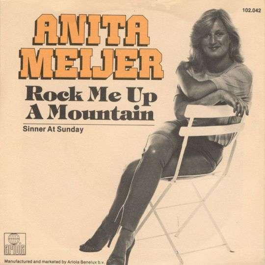Coverafbeelding Rock Me Up A Mountain - Anita Meijer