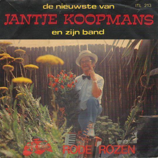 Coverafbeelding Rode Rozen - Jantje Koopmans En Zijn Band