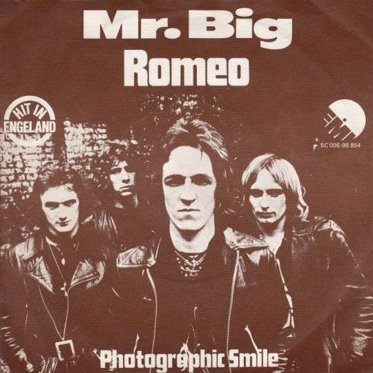 Coverafbeelding Mr. Big ((GBR)) - Romeo
