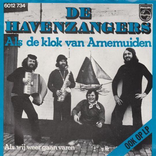 Coverafbeelding Als De Klok Van Arnemuiden - De Havenzangers