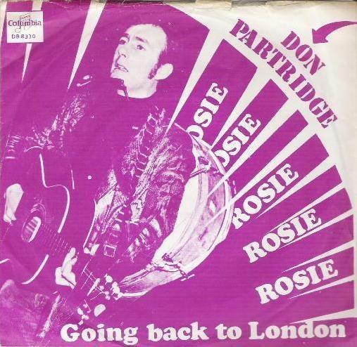Coverafbeelding Don Partridge - Rosie