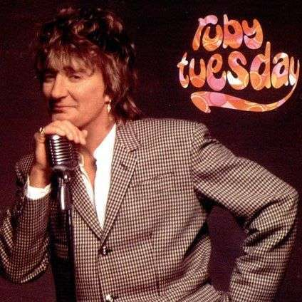 Coverafbeelding Rod Stewart - Ruby Tuesday