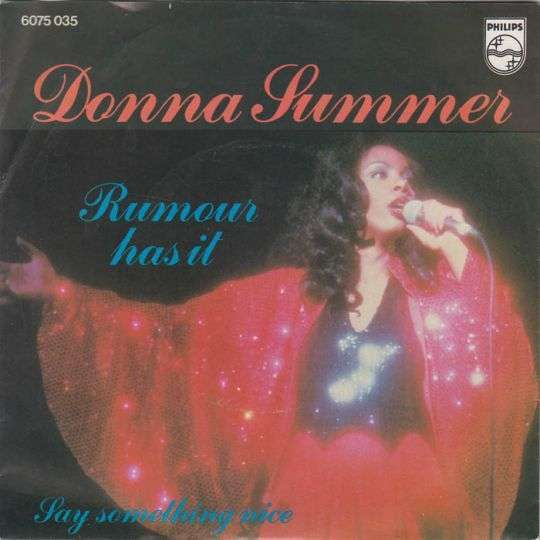 Coverafbeelding Donna Summer - Rumour Has It
