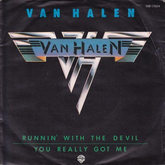 Coverafbeelding Van Halen - Runnin' With The Devil