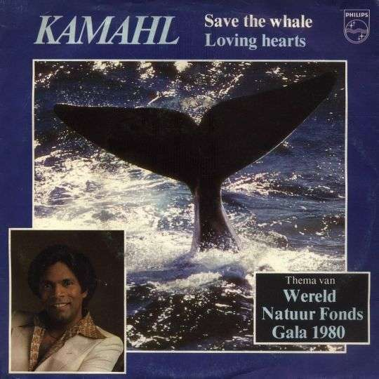Coverafbeelding Save The Whale - Kamahl