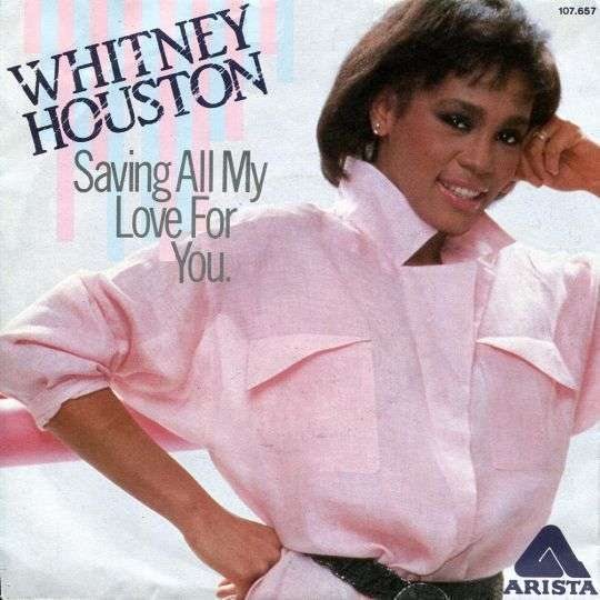 Coverafbeelding Saving All My Love For You - Whitney Houston