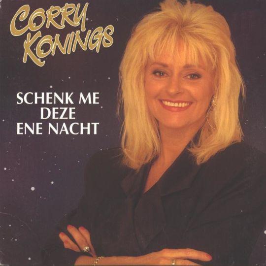 Coverafbeelding Schenk Me Deze Ene Nacht - Corry Konings