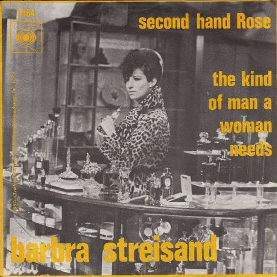 Coverafbeelding Second Hand Rose - Barbra Streisand