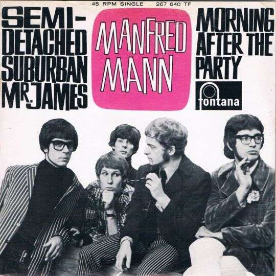 Coverafbeelding Semi-detached Suburban Mr. James - Manfred Mann