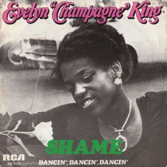 "Coverafbeelding Shame - Evelyn ""champagne"" King"