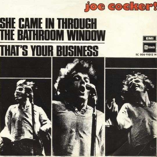 Coverafbeelding She Came In Through The Bathroom Window - Joe Cocker!
