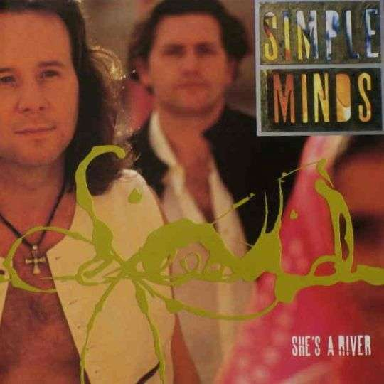 Coverafbeelding She's A River - Simple Minds