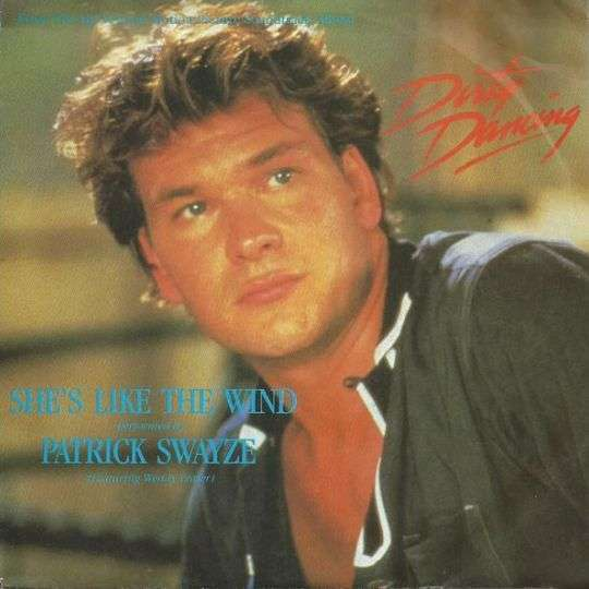 Coverafbeelding Patrick Swayze (featuring Wendy Fraser) - She's Like The Wind