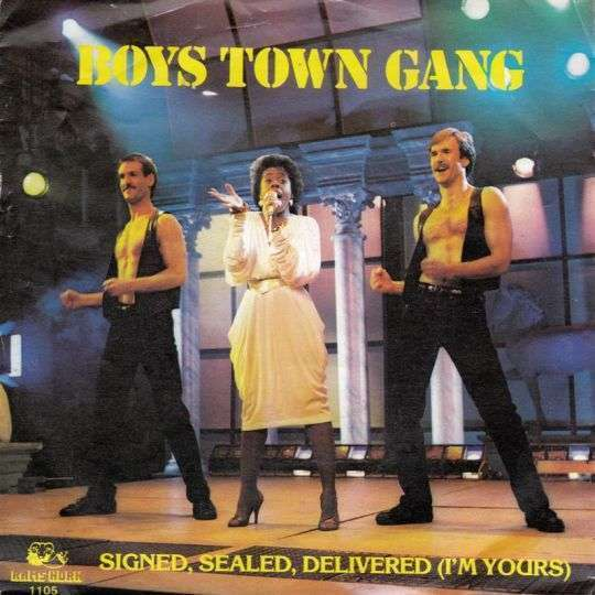Coverafbeelding Signed, Sealed, Delivered (I'm Yours) - Boys Town Gang