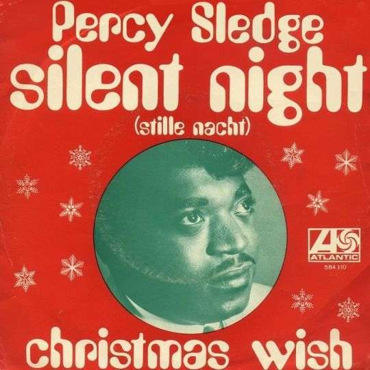 Coverafbeelding Percy Sledge - Silent Night (Stille Nacht)