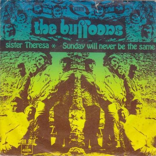 Coverafbeelding Sister Theresa/ Sunday Will Never Be The Same - The Buffoons