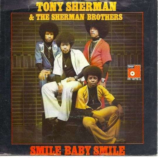 Coverafbeelding Smile Baby Smile - Tony Sherman & The Sherman Brothers