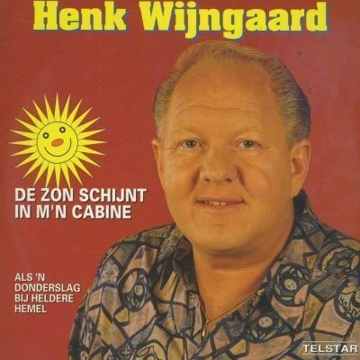 Coverafbeelding De Zon Schijnt In M'n Cabine - Henk Wijngaard