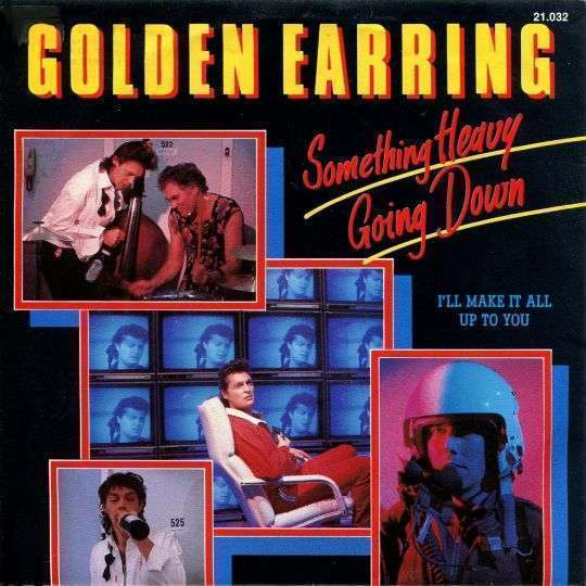 Coverafbeelding Something Heavy Going Down - Golden Earring