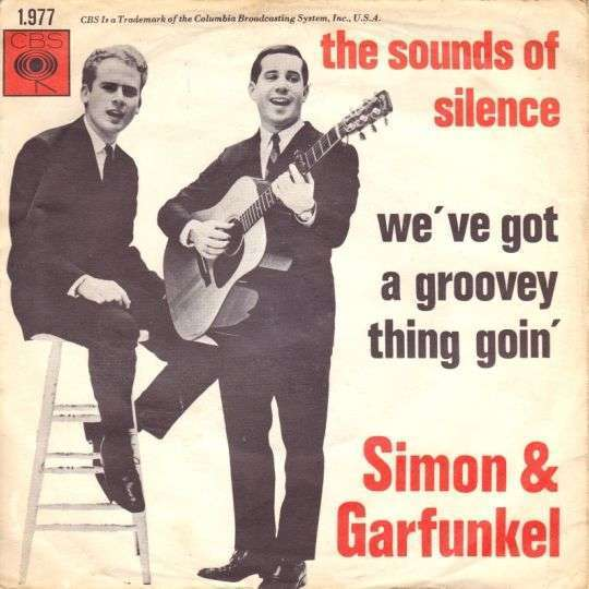 Coverafbeelding The Sounds Of Silence - Simon & Garfunkel