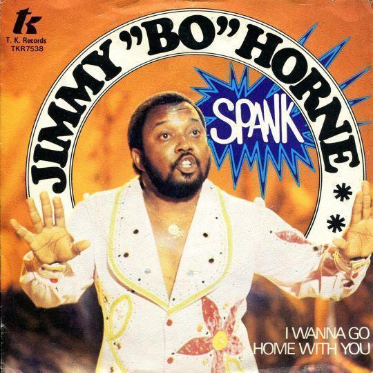 """Coverafbeelding Spank - Jimmy """"bo"""" Horne"""