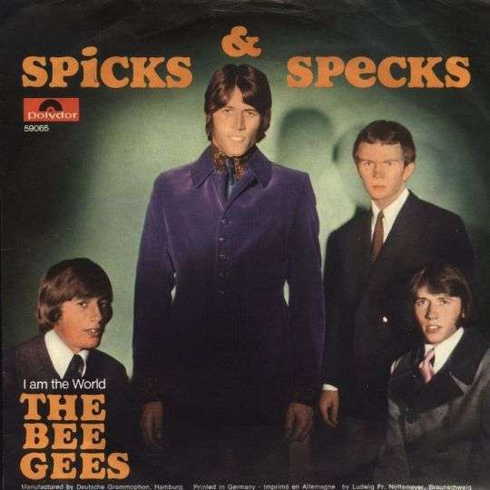 Coverafbeelding Spicks & Specks / Spicks And Specks - The Bee Gees / O'hara's Playboys