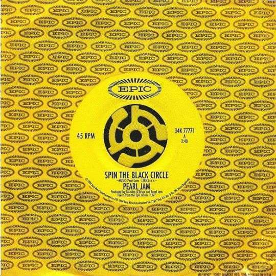 Coverafbeelding Spin The Black Circle - Pearl Jam