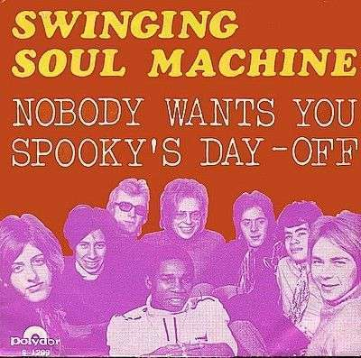 Coverafbeelding Spooky's Day-off - Swinging Soul Machine