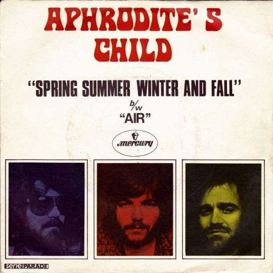 Coverafbeelding Spring Summer Winter And Fall - Aphrodite's Child