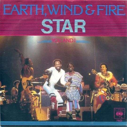 Coverafbeelding Star - Earth, Wind & Fire