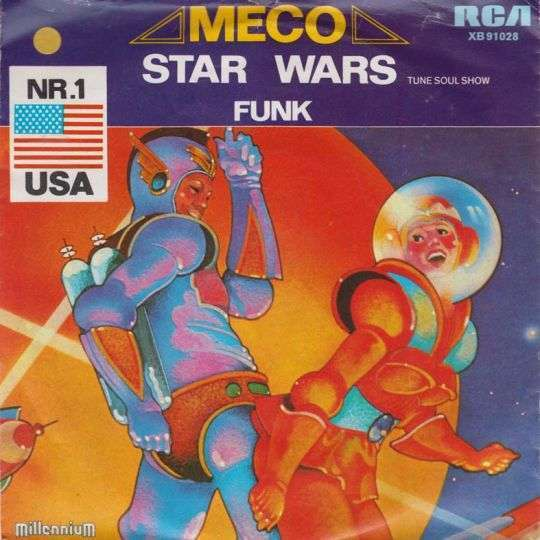 Coverafbeelding Meco - Star Wars - Tune Soul Show