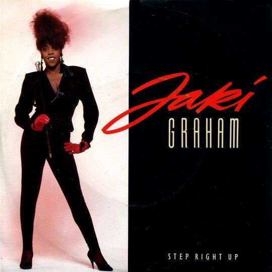Coverafbeelding Step Right Up - Jaki Graham
