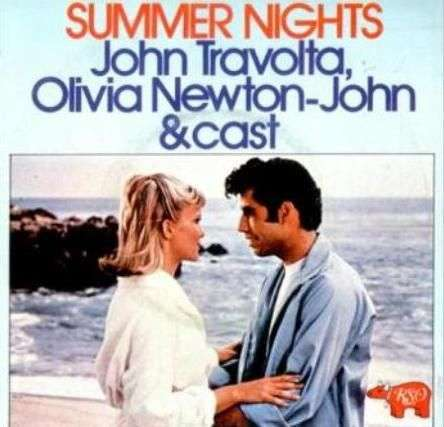 Coverafbeelding Summer Nights - John Travolta, Olivia Newton-john & Cast