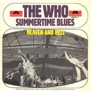 Coverafbeelding Summertime Blues - The Who