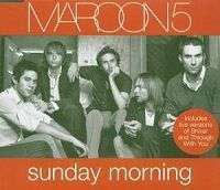 Coverafbeelding Sunday Morning - Maroon 5